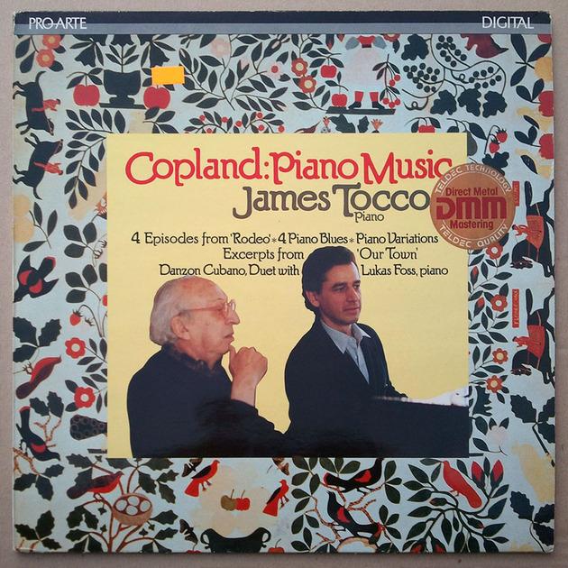 PRO ARTO Digital | JAMES TOCCO/COPLAND - Piano Music / EX