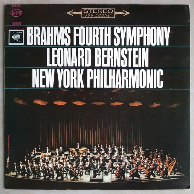 COLUMBIA | BERNSTEIN/BRAHMS - Symphony No. 4 / NM