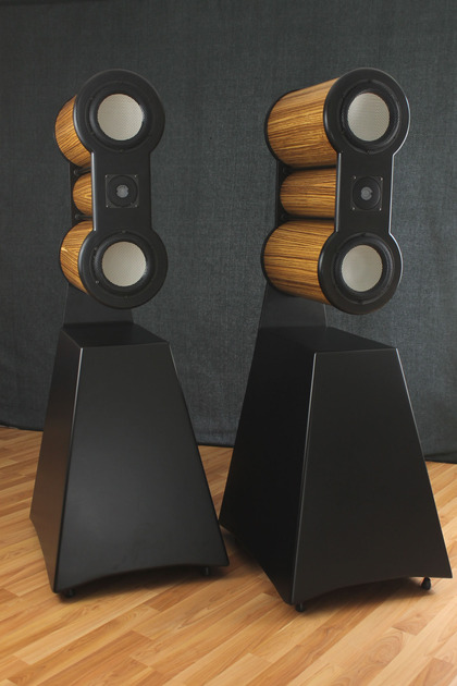 From the Designer of EDGE comes  Maker Audio Model 10 Speakers - Unique - Ceramic Drivers - Self Amplified - Streaming