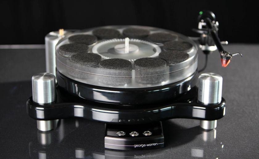 """George Warren Turntable """"Stereo Times Most Wanted Component"""""""