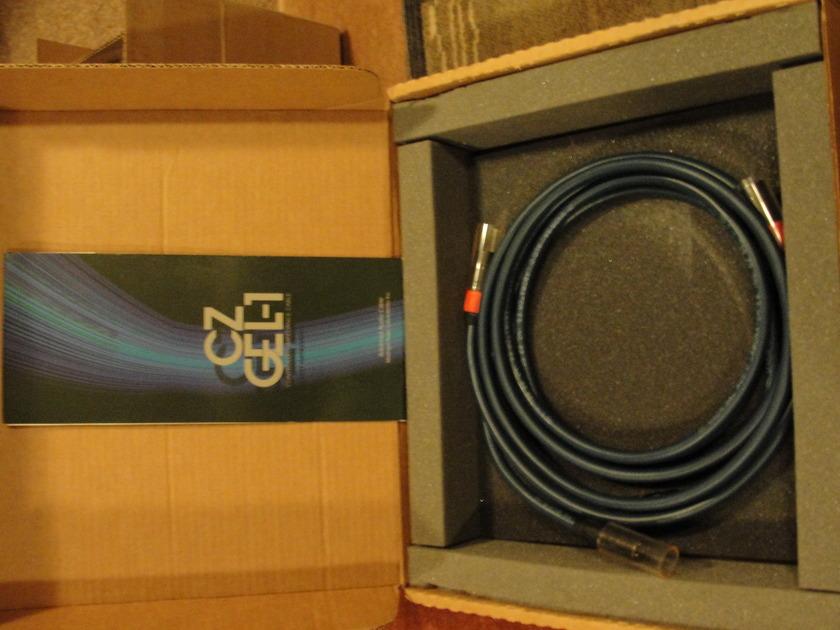 Madrigal  CZ Gel 1 1.5 Meter XLR Balanced audio cables