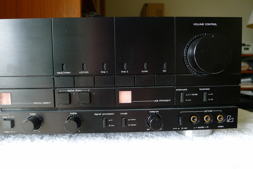LUXMAN  LV 109 VERY VERY POWERFUL INT. AMP.
