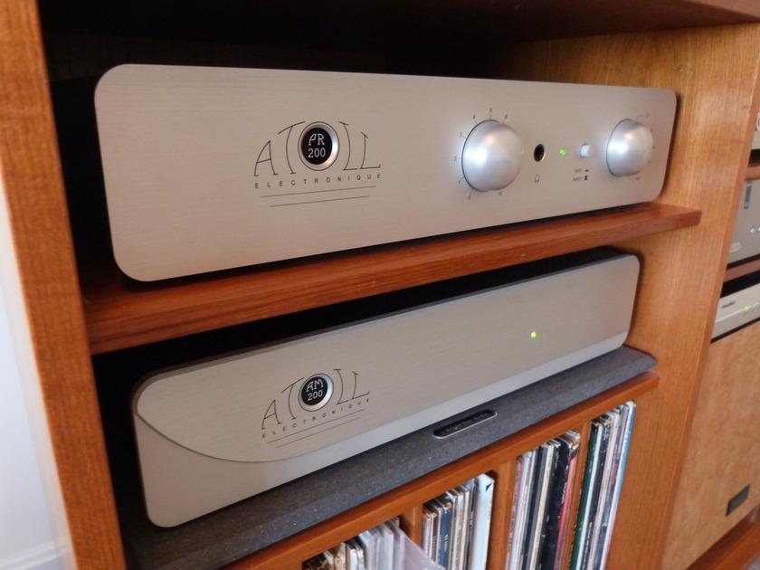 Atoll Electronique PR200  Preamplifier w/remote Perfect Condition!