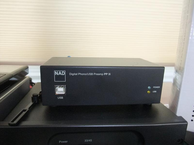 NAD PP 3i Digital Phono/USB Preamp