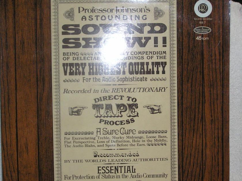 Professor Johnson's - Astounding Sound Show 45 RPM