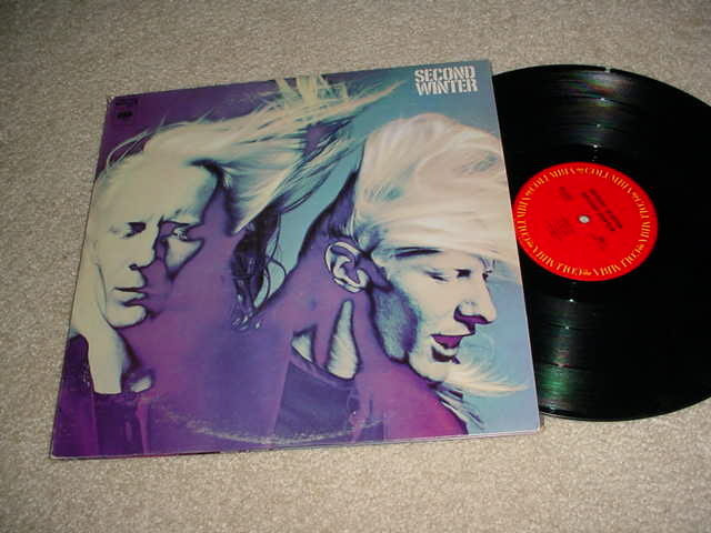 JOHNNY WINTER  - SECOND WINTER DOUBLE LP RECORD