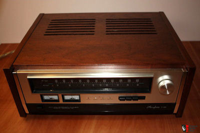 Accuphase Wood Case Walnut Case for T-100 Tuner Orginal Factory Unit - Very Rare