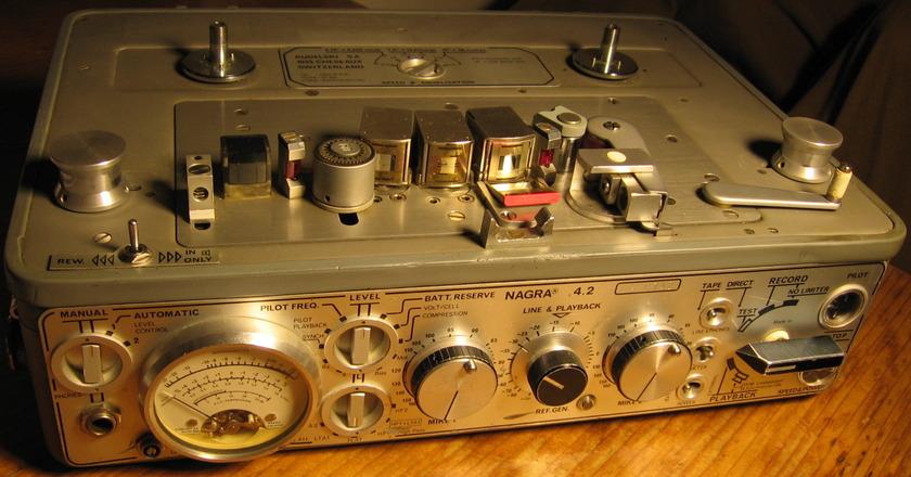 Nagra  4.2 portable tape recorder