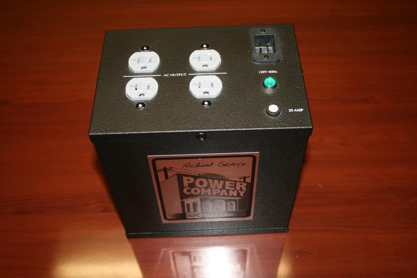 Richard Gray's Power Company RGPC Model 400 Pro power conditioner, stiffener, surge