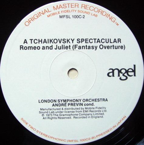 ★Audiophile★ MFSL / PREVIN, - Tchaikovsky 1812 Overture, NM-!