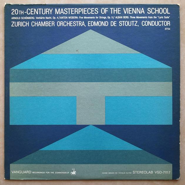 VANGUARD | SCHOENBERG, WEBERN, BERG / - 20th Century Masterpieces of the Vienna School / NM