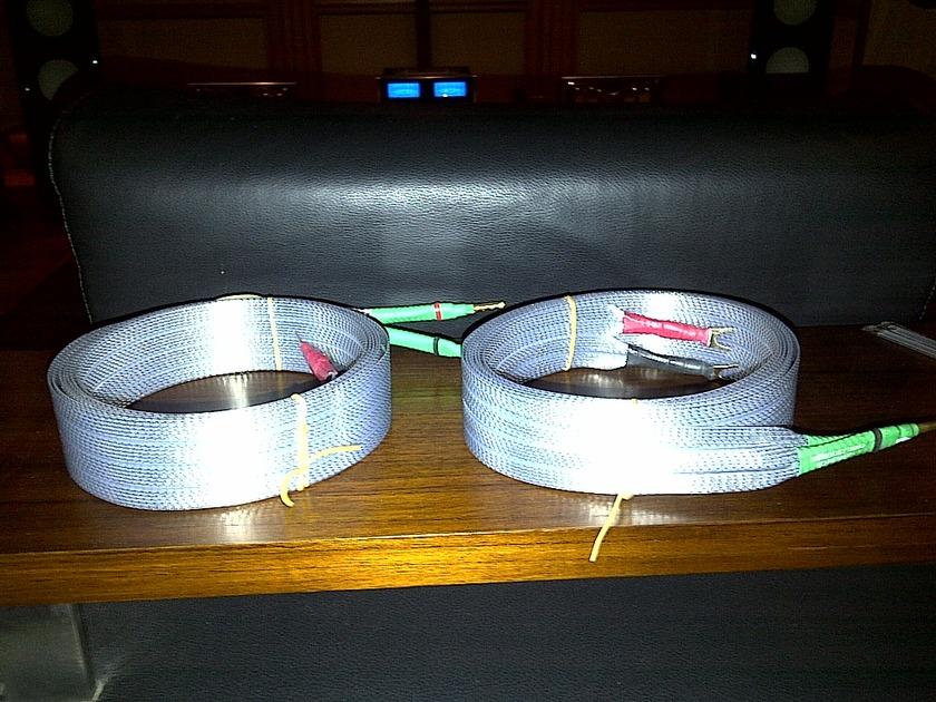 Nordost TYR speaker cables 3m pair shotgun DEMO unit