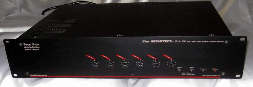 Audio Control Architect 200 power amplifier with EQ