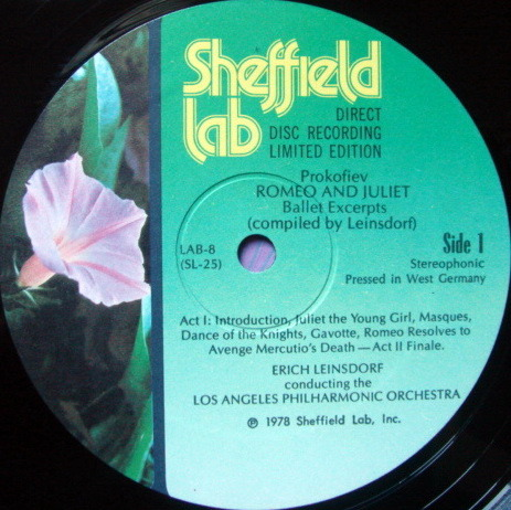 ★Audiophile★ Sheffield Lab / LEINSDORF, - Prokofiev Romeo & Juliet, MINT!