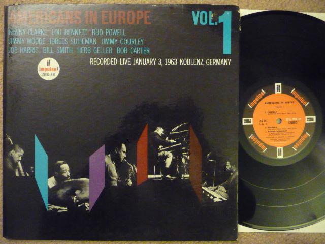AMERICANS IN EUROPE VOL. 1 - IMPULSE LP IMPULSE A 36 JAZZ