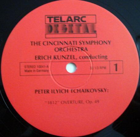 ★Audiophile★ Telarc / KUNZEL, - Tchaikovsky 1812 Overture, TAS SUPER DISC, MINT!