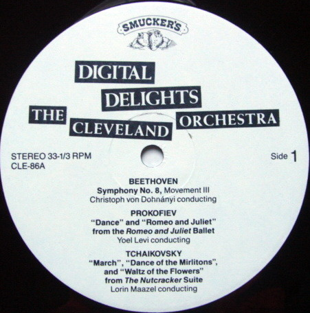 ★Audiophile★ Telarc / MAAZEL-DOHNANYI, - Digital Delights The Cleveland Orchestra,  MINT!