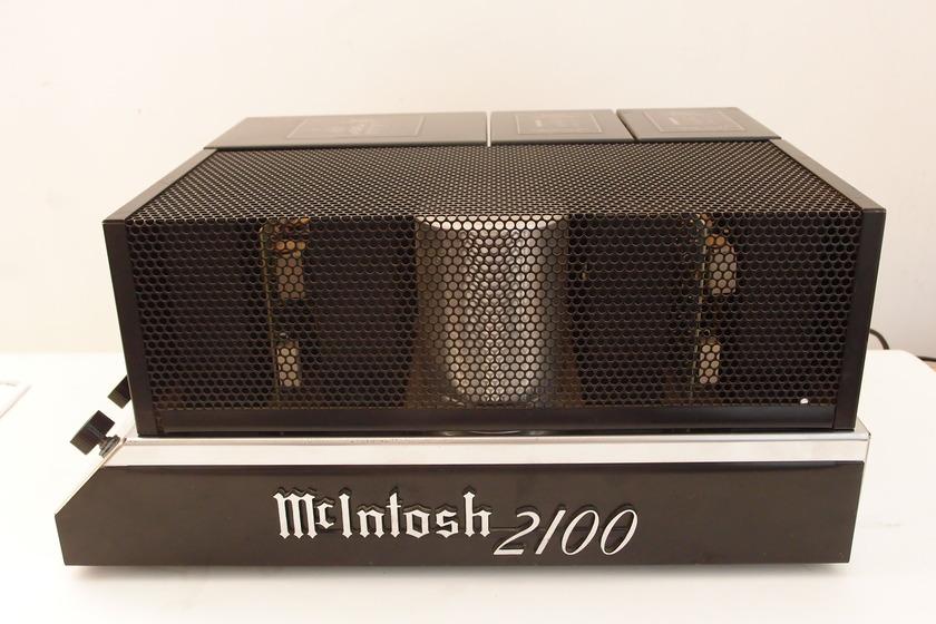 MCINTOSH MC-2100 STEREO POWER AMPLIFIER