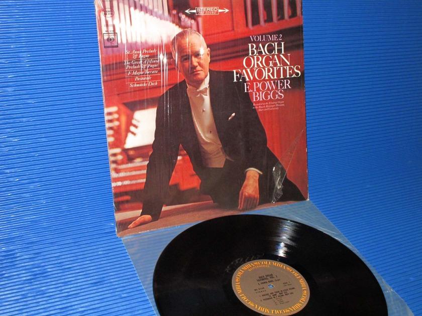 "BACH/Biggs -   - ""Bach Organ Favorites II"" - CBS Masterworks 1970"
