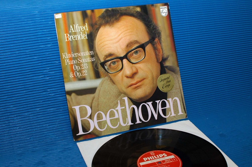 "BEETHOVEN/Brendel - - ""Piano Sonatas 3 & 11"" -  Philips Promo 1978"