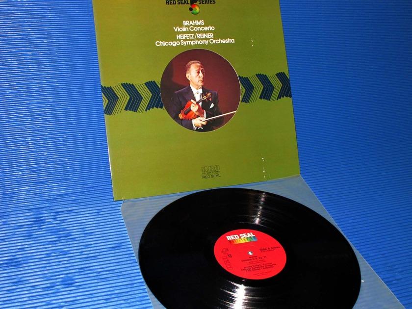 """BRAHMS/Reiner/Heifetz -  - """"Violin Concerto D"""" - RCA Red Seal Digital"""
