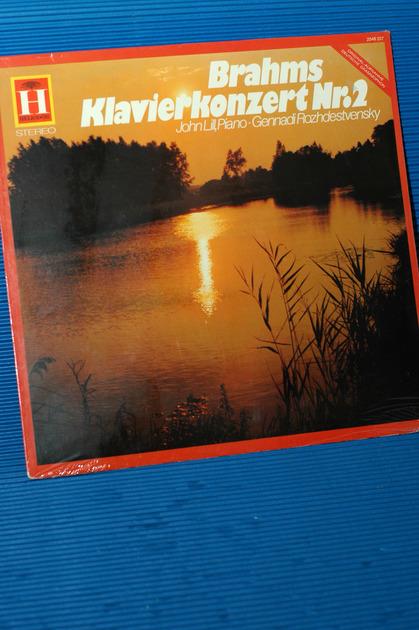 "BRAHMS/Lill - - ""Piano Concerto No.2"" - Heliodor German 1971 Sealed"