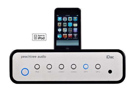 Peachtree Audio iDAC Modified Class A DAC's