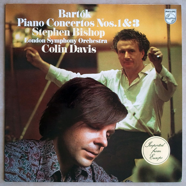 PHILIPS | BISHOP/DAVIS/BARTOK - Piano Concetos Nos. 1 & 3 / NM
