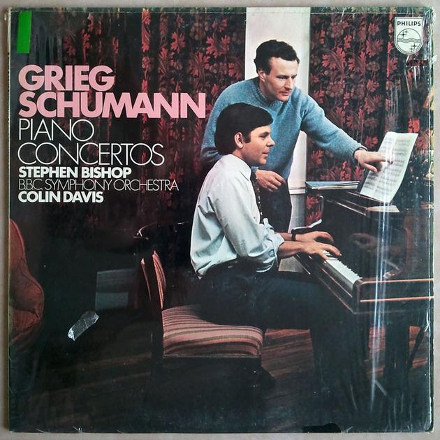 PHILIPS | BISHOP/DAVIS/GRIEG - & SCHUMANN Piano Concetos / NM
