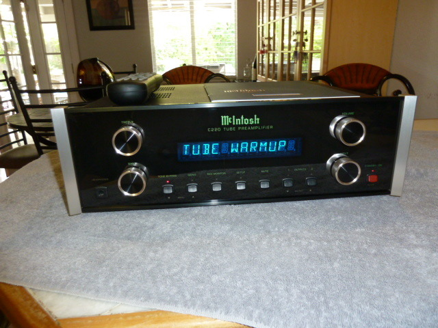 McIntosh c220 tube preamp