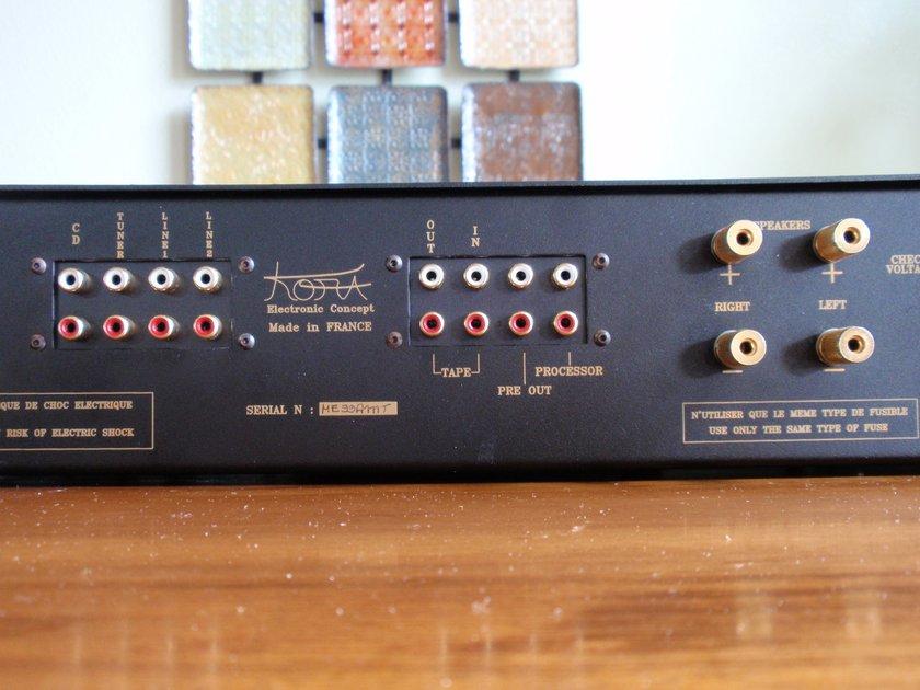 Kora Mercury EL84 integrated 40WPC  H/T pass-through  Must see-Hear!