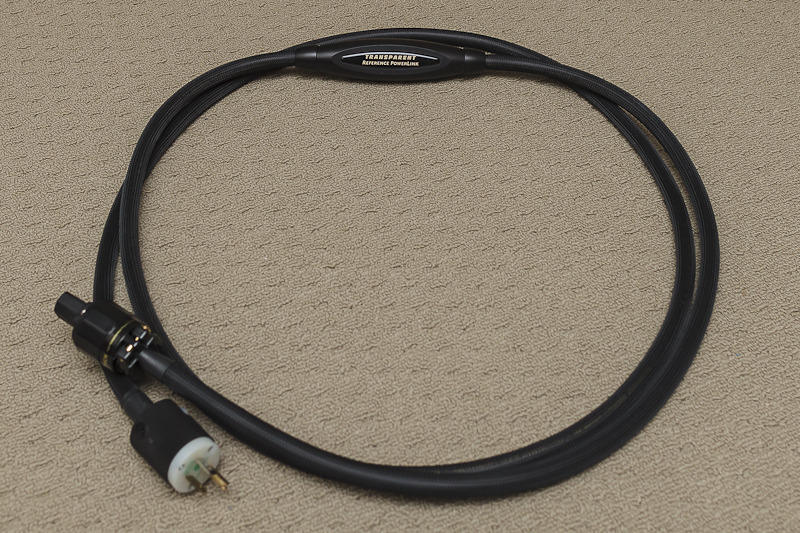 Transparent REFERENCE 3M PowerLink AC Power cable