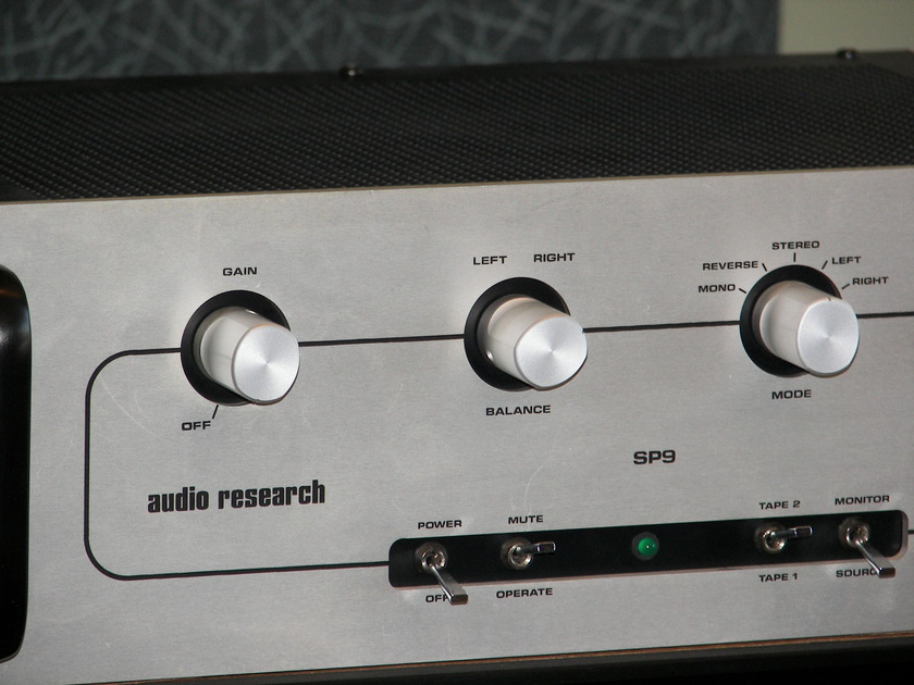 Audio Reserch SP9 Reference Pre Amp