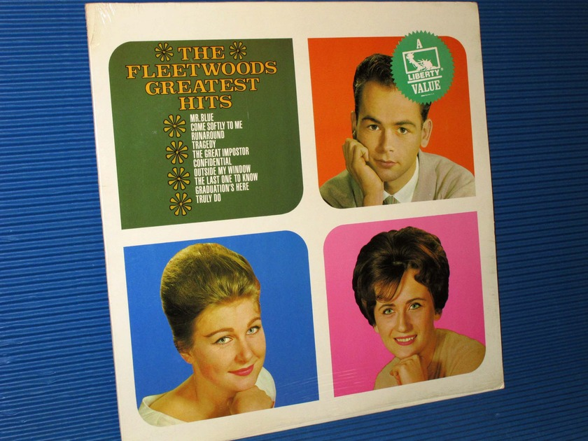"THE FLEETWOODS -  - ""Greatest Hits"" -  Liberty 1982 Sealed!"