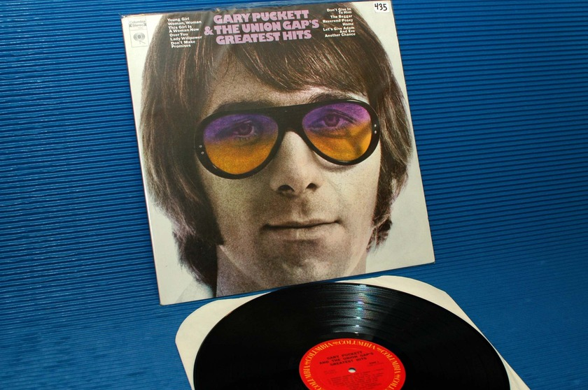 "GARY PUCKETT & THE UNION GAP -  - ""Greatest Hits"" - Columbia 1970"