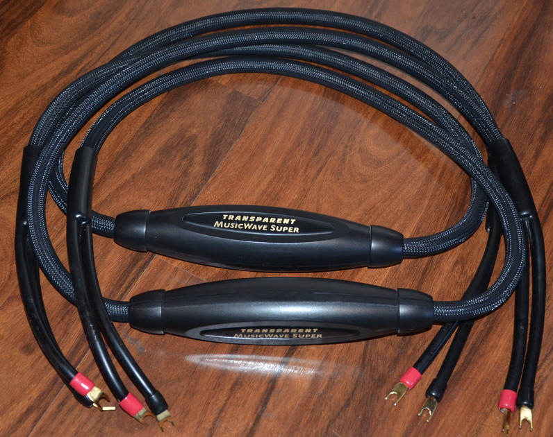 Transparent Cable,  MusicWave Super 8-Feet In Excellent Condition Condition