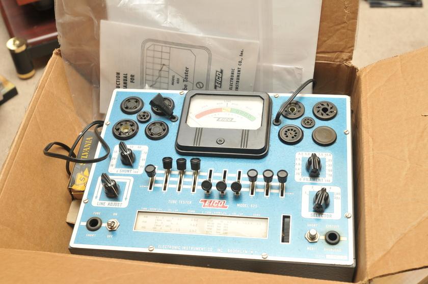 Eico Model 625 Tube tester