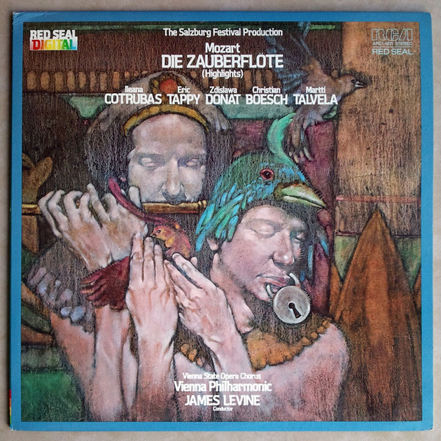 RCA Digital | LEVINE/MOZART - The Magic Flute highlight / NM