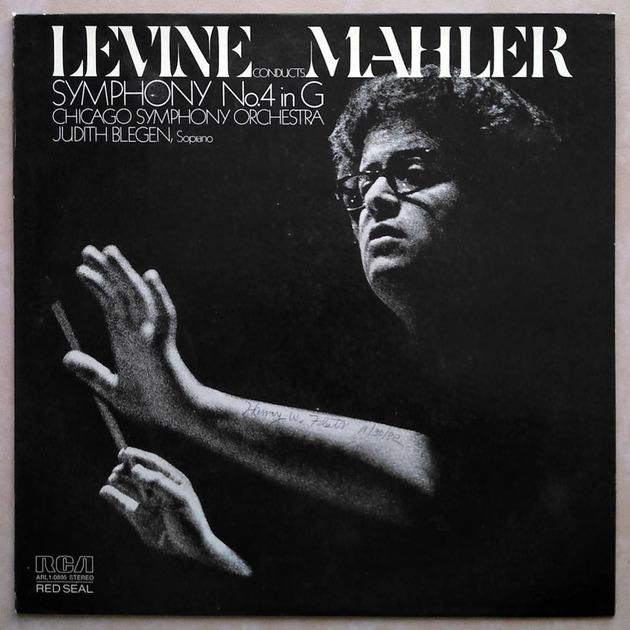 RCA | LEVINE/MAHLER - Symphony No. 4 / NM