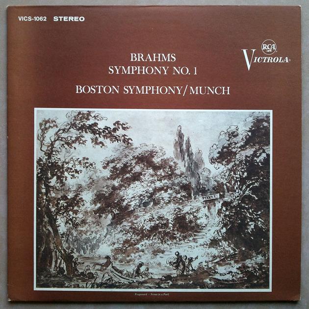 RCA   MUNCH/BRAHMS - Symphony No. 1 / NM