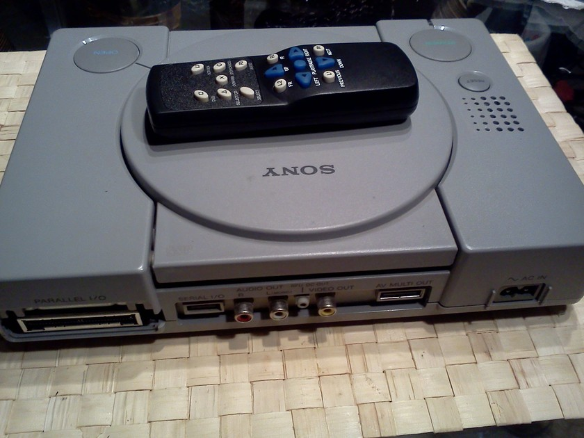 Sony PS-1 SCPH-1001 Modified CD Player (Basic)