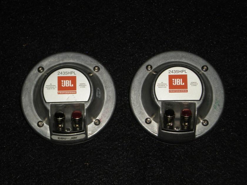JBL 2435HPL COMPRESSION DRIVER/PAIR
