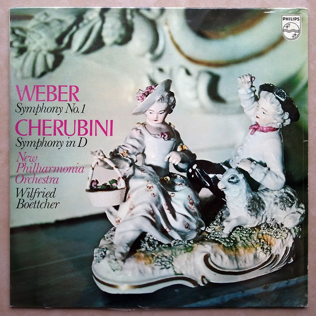 Sealed PHILIPS   WEBER Symphony No. 1 / - CHERUBINI Symphony in D