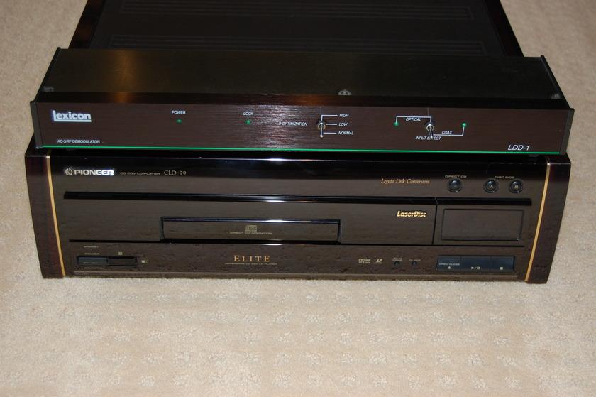 Pioneer Elite CLD-99 refurbished LaserDisc player