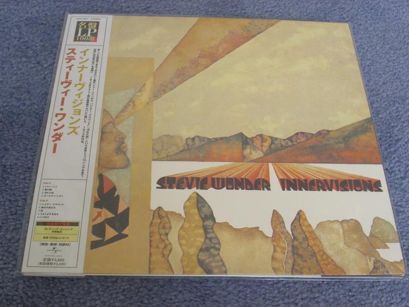 Stevie Wonder - INNERVISIONS -- SEALED --200 gram Japanese import vinyl LP