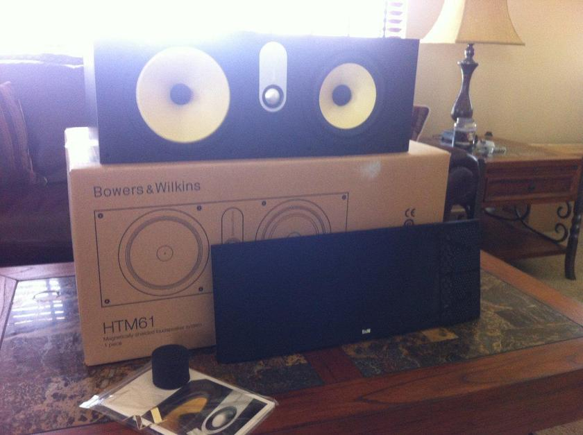 Bowers and Wilkins (B&W) HTM 61 Black Ash
