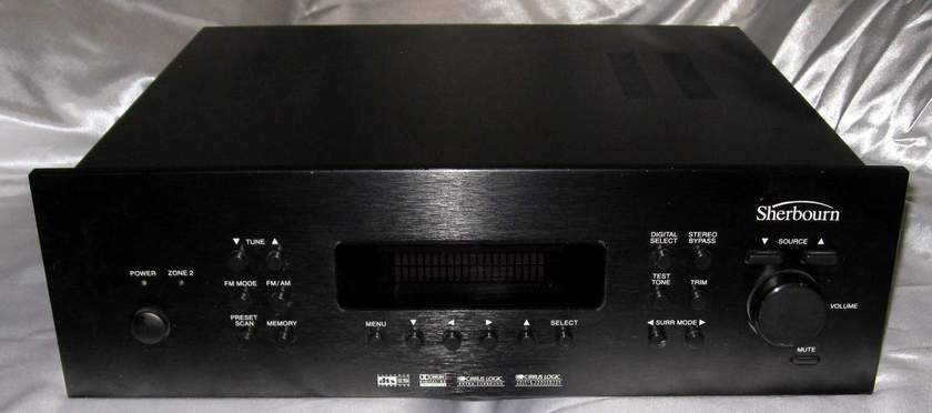Sherbourn Audio PT-7000 dd dts etc preamplifier processor