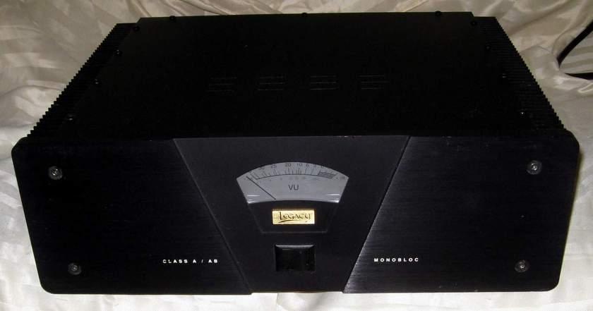 Legacy Audio Monobloc power amplifier THE MONSTER!