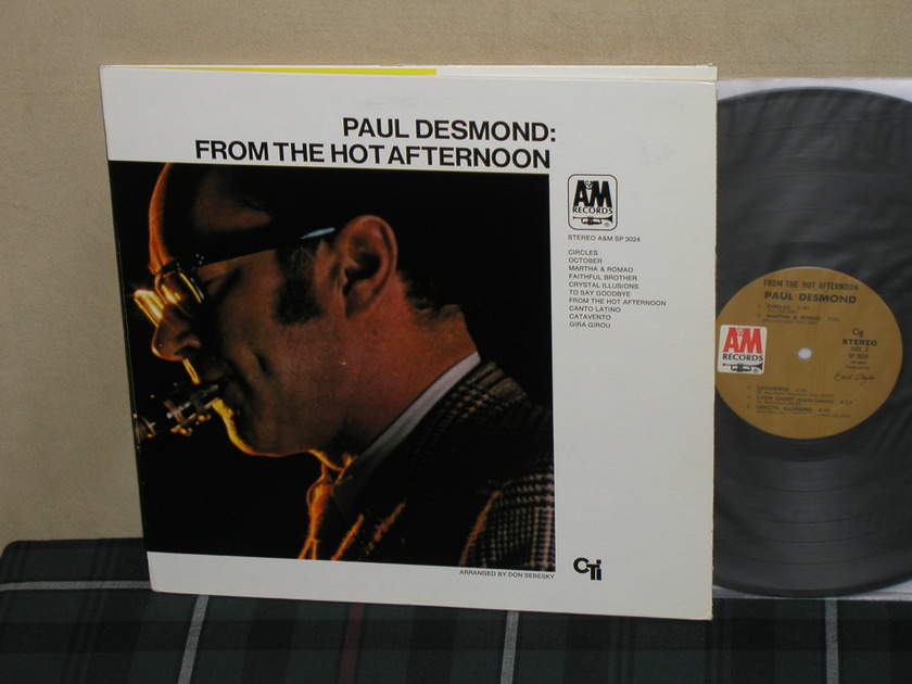 Paul Desmond    From The Hot - Afternoon. A&M Tan label SP-3024