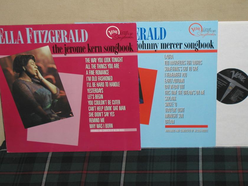 Ella Fitzgerald      Jerome Kern/ - Johnny Mercer...GERMAN Imports.
